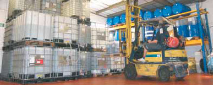 Phase change material handling